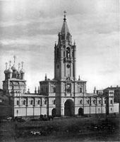 Звонница Страстного монастыря